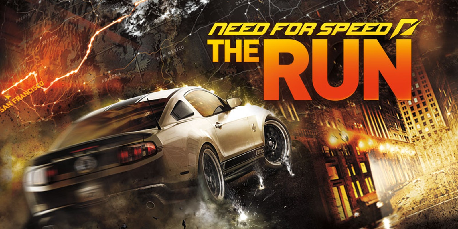 need for speed the run nintendo 3ds jeux nintendo. Black Bedroom Furniture Sets. Home Design Ideas