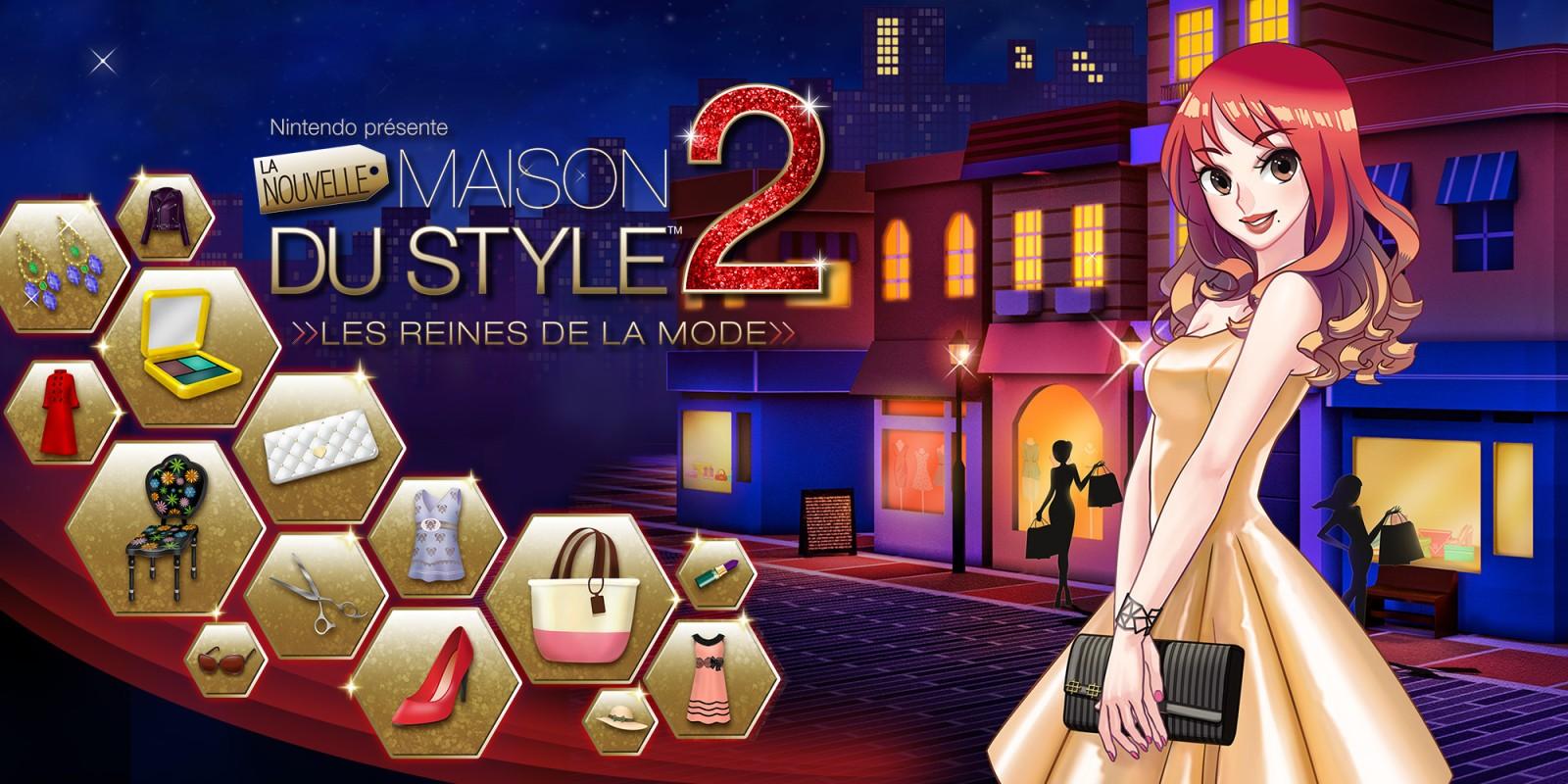 Nintendo Presente La Nouvelle Maison Du Style 2 Les Reines De La Mode Nintendo 3ds Jeux Nintendo