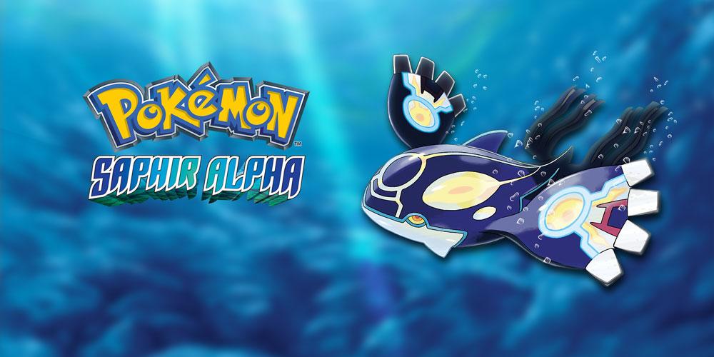 Pok 233 Mon Saphir Alpha Nintendo 3ds Jeux Nintendo