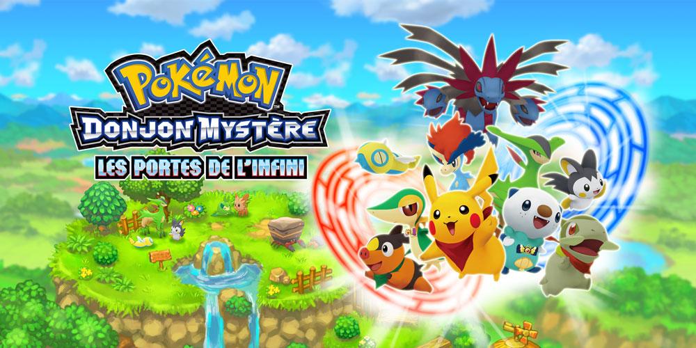 Pok mon donjon myst re les portes de l infini nintendo - Pokemon donjon mystere les portes de l infini evolution ...