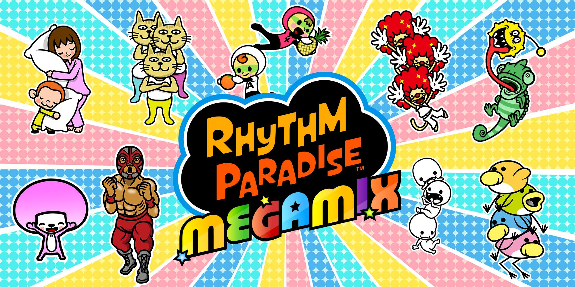 Rhythm Paradise Megamix Nintendo 3ds Jeux Nintendo