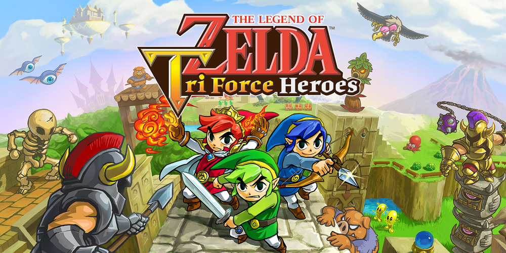 The legend of zelda tri force heroes nintendo 3ds for Achat maison zelda