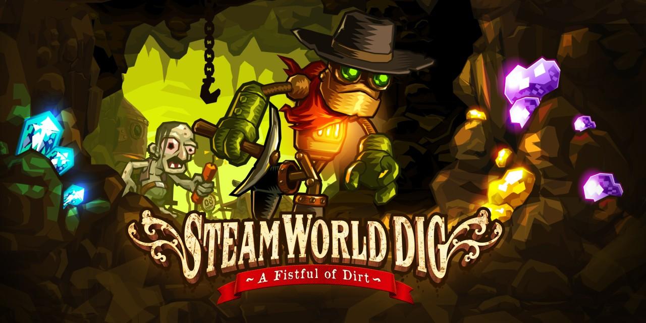 steamworld dig jeux t l charger sur wii u jeux nintendo. Black Bedroom Furniture Sets. Home Design Ideas