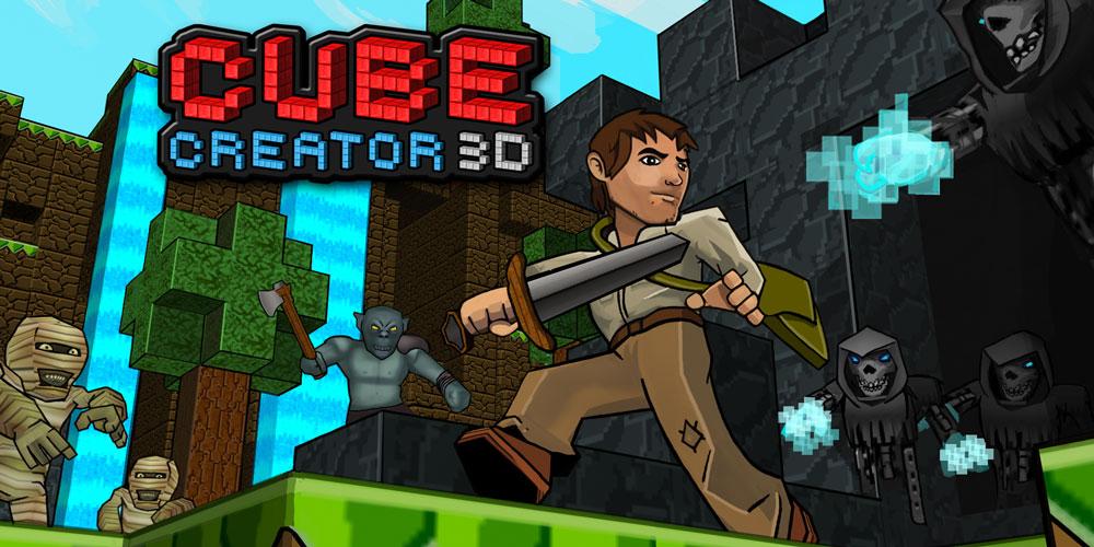 [3DS] Cube Creator 3D : une MàJ 1.2 avec ajout du multijoueur