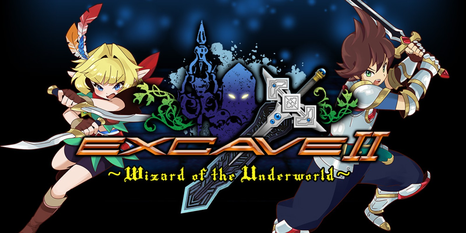 Excave II : Wizard of the Underworld