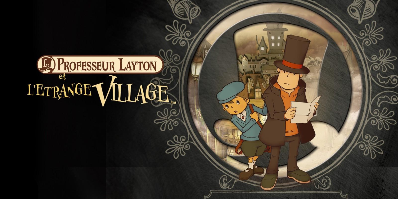 Jeux Video: Professeur Layton et l'étrange …