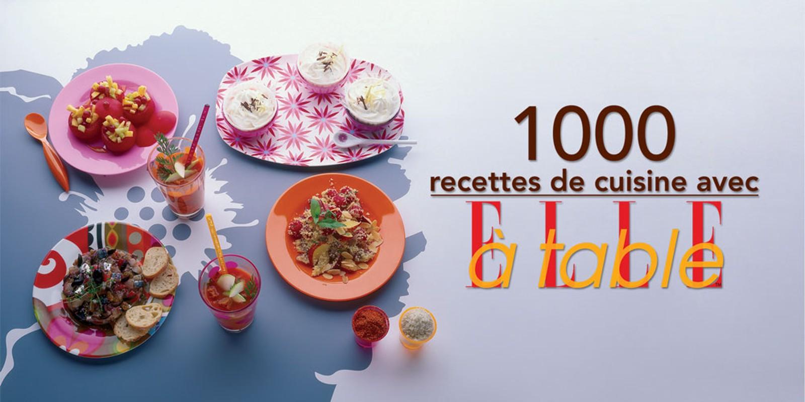 1 000 recettes de cuisine avec elle table nintendo ds for Cuisine ds