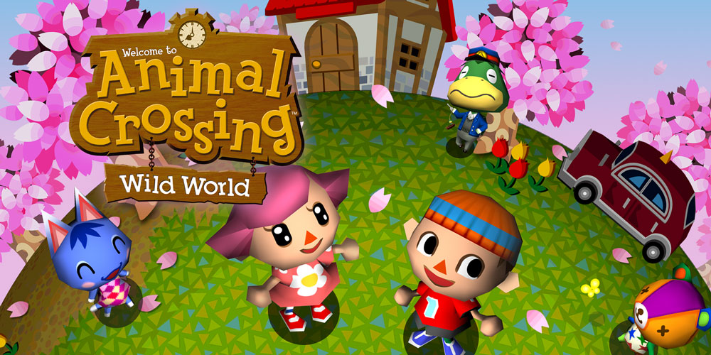 Animal crossing wild world nintendo ds jeux nintendo for Agrandissement maison animal crossing wii