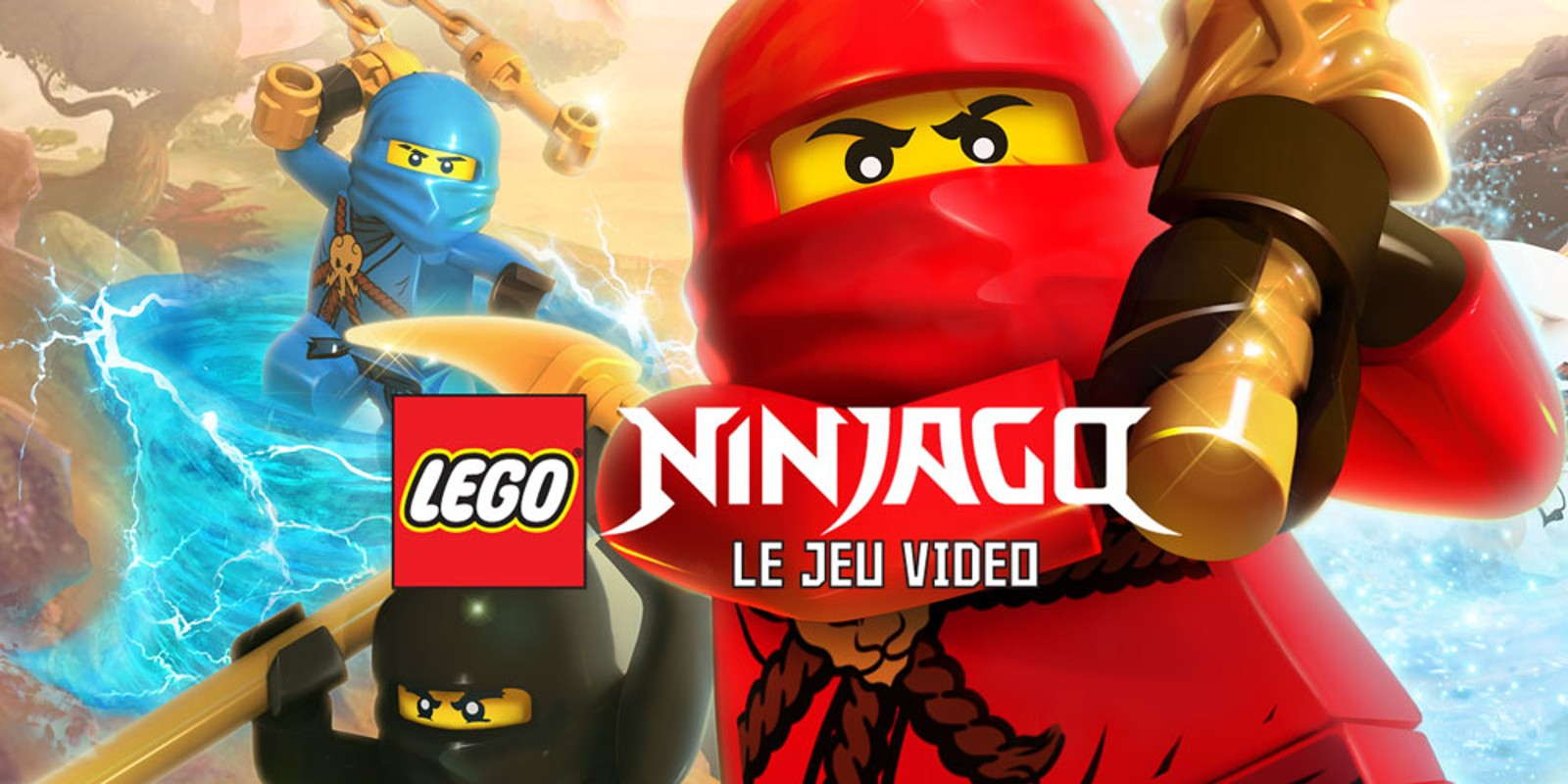lego ninjago le jeu vido - Jeux De Lego Ninjago Spinjitzu