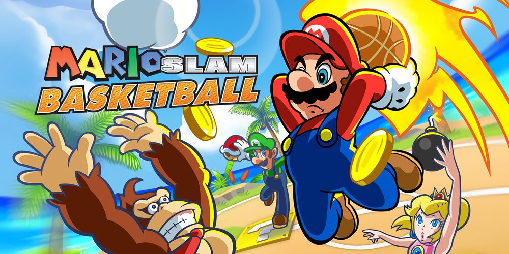 Mario slam basketball nds descargar