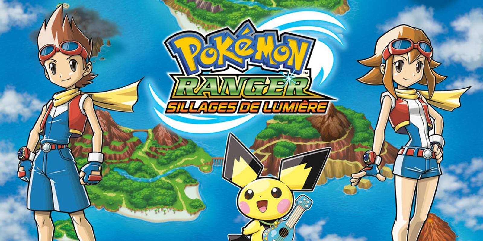 pokemon ranger sillage de lumiere rom fr