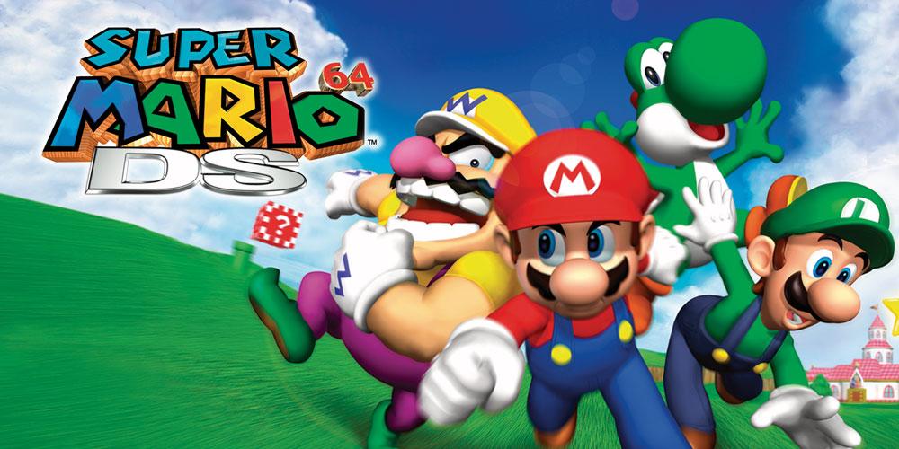 Super Mario 64 Ds Nintendo Ds Jeux Nintendo