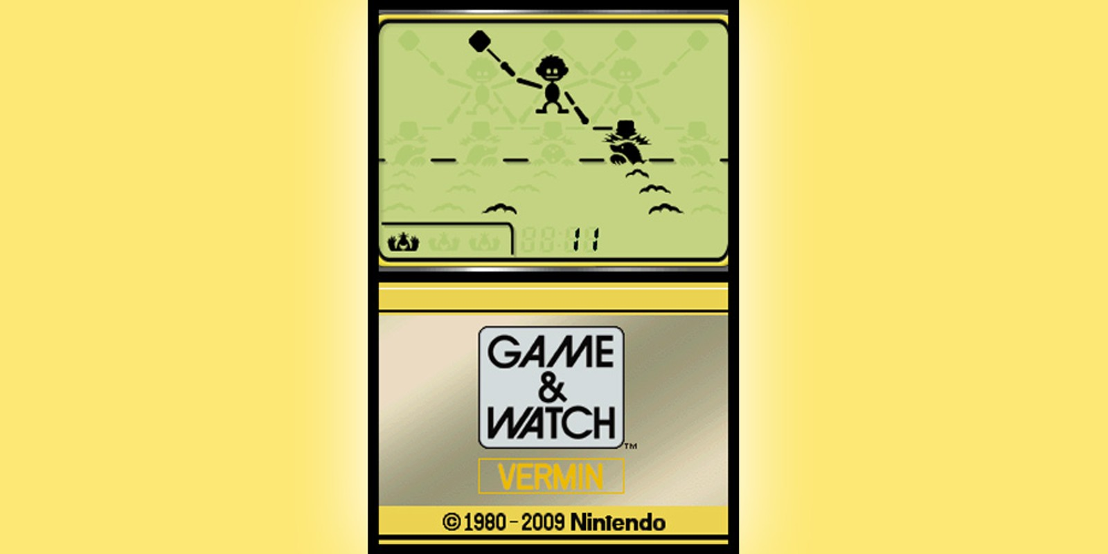 Game & Watch™ Vermin