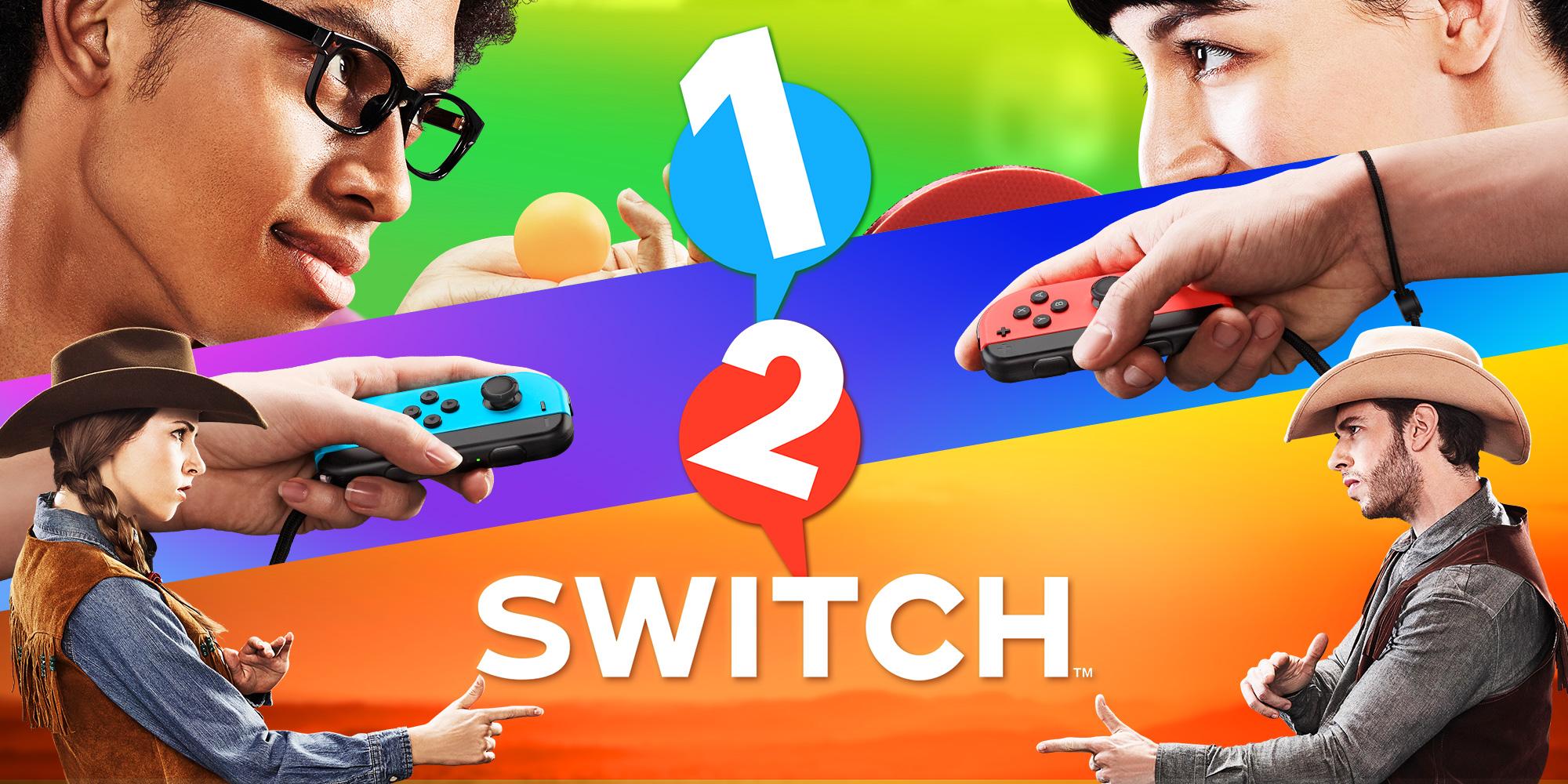 [Switch] 18 jeux à l'honneur dans cette vidéo de 1-2 Switch