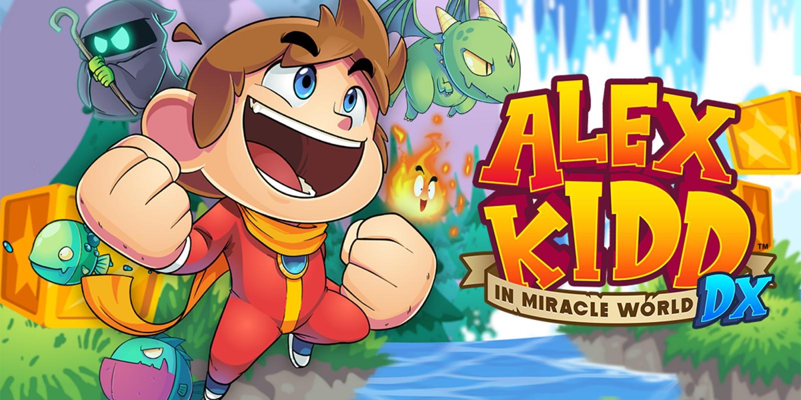 Alex Kidd in Miracle World DX | Nintendo Switch | Jeux | Nintendo