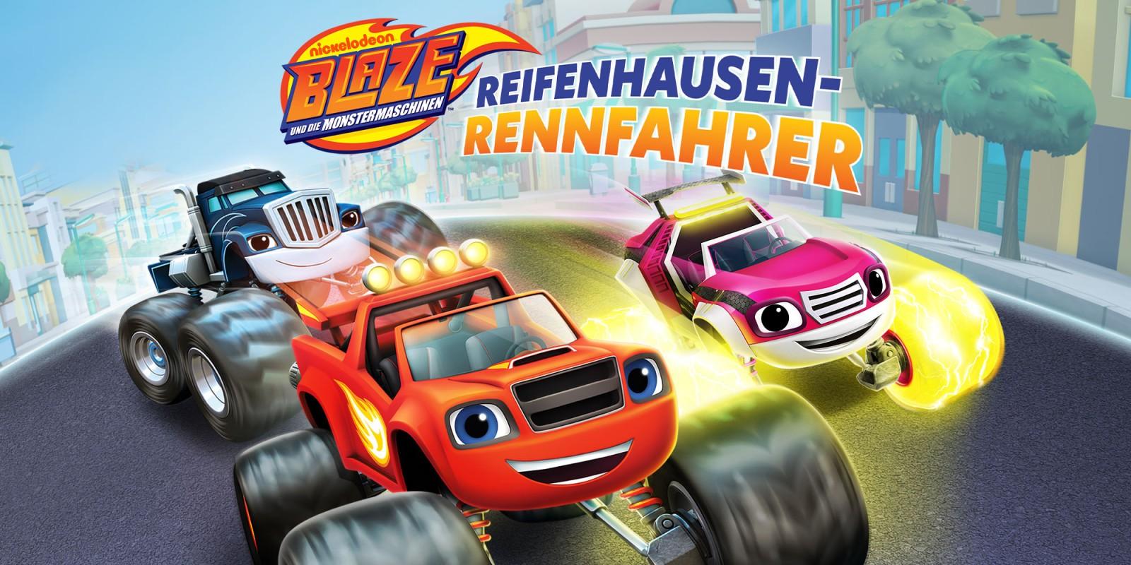 Blaze und die Monster-Maschinen: Reifenhausen-Rennfahrer