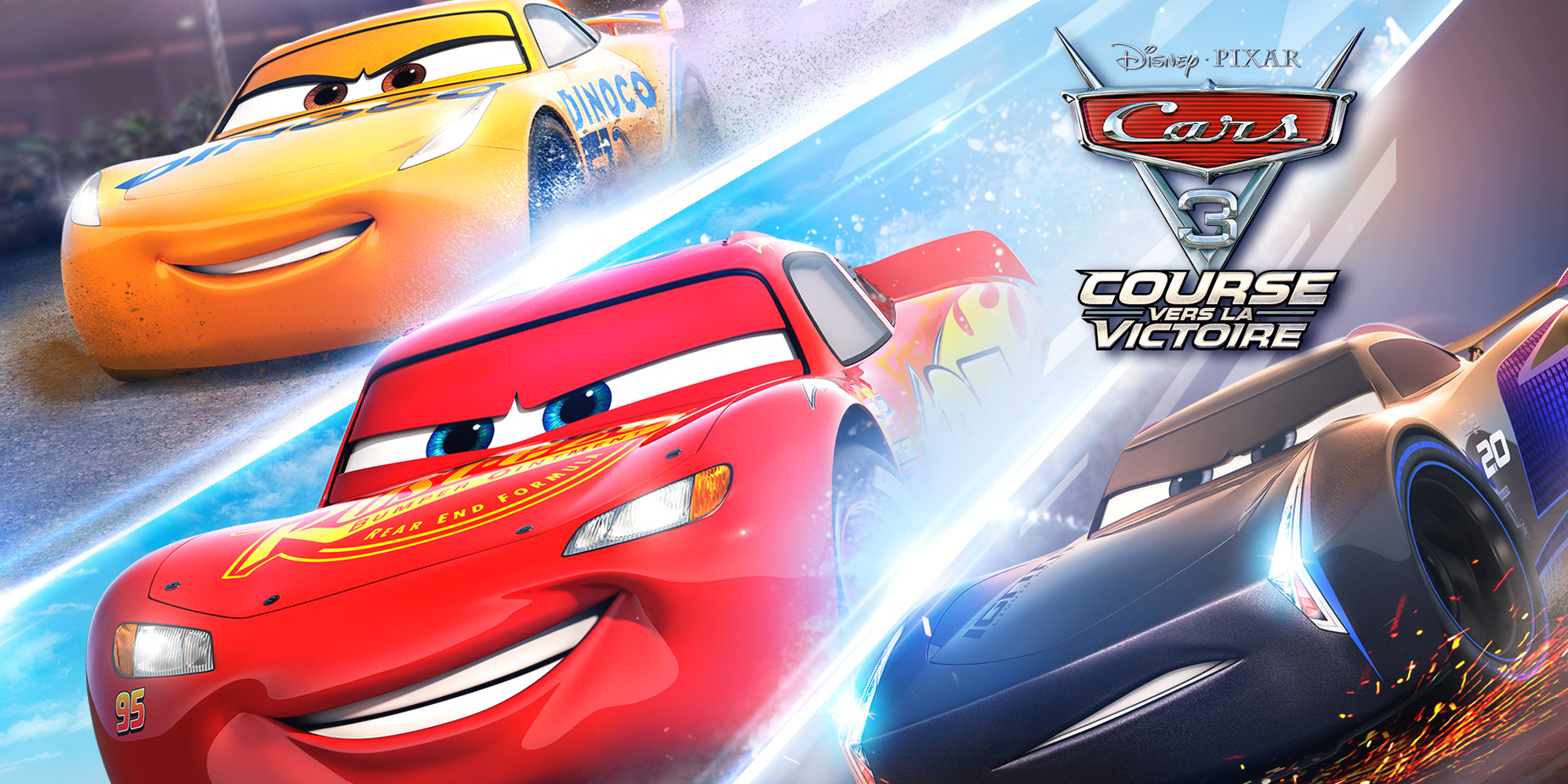 cars 3 course vers la victoire wii u jeux nintendo. Black Bedroom Furniture Sets. Home Design Ideas