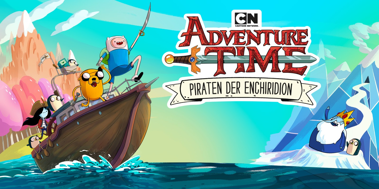 Cartoon Network Adventure Time: Piraten der Enchiridion