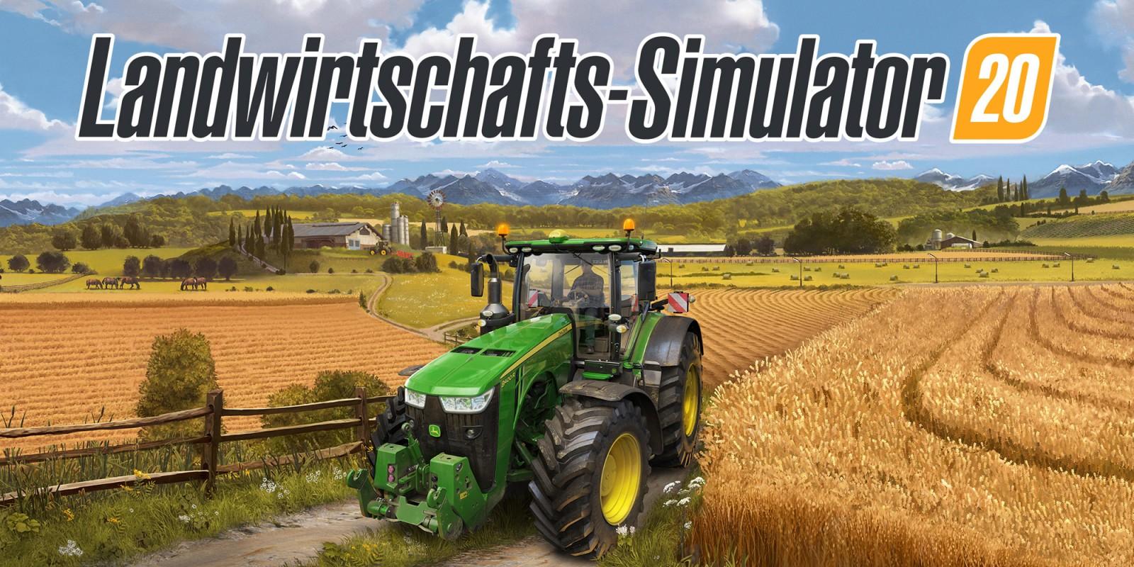 Landwirtschafts Simulator 20   Nintendo Switch   Spiele   Nintendo
