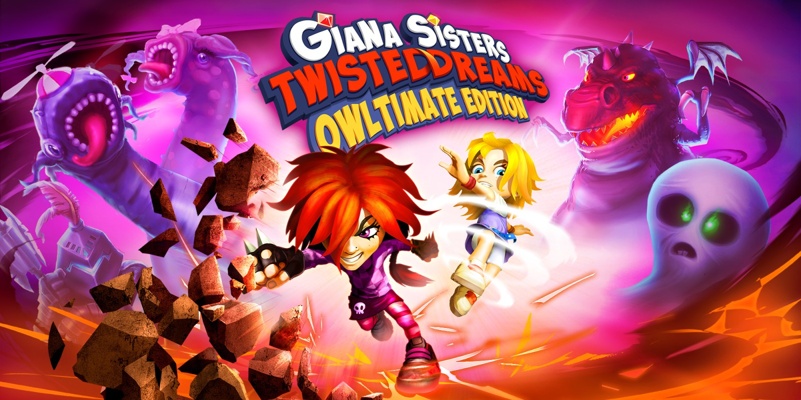 Giana Sisters: Twisted Dreams - Owltimate Edition