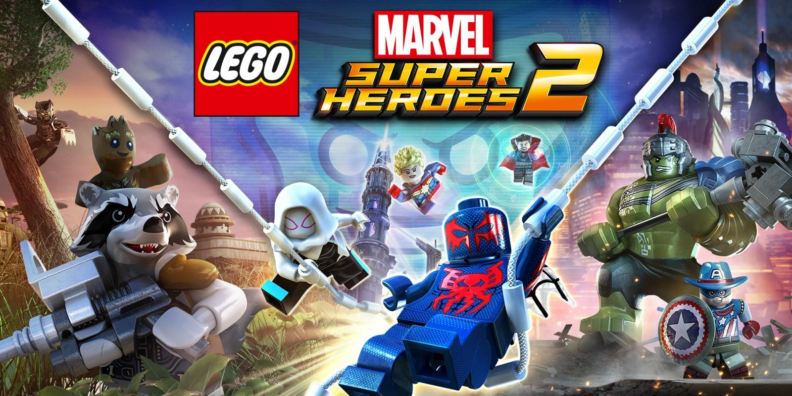 lego marvel super heroes 2 nintendo switch jeux. Black Bedroom Furniture Sets. Home Design Ideas