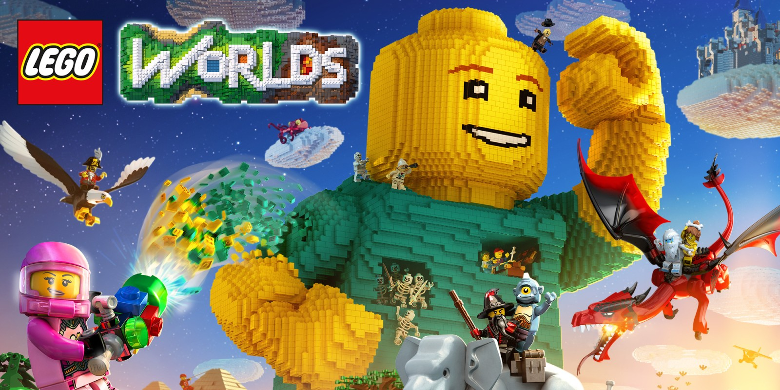 [Switch] LEGO Worlds s'offre une courte bande-annonce !
