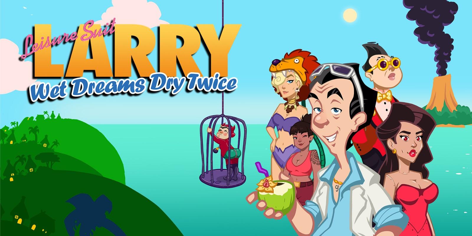 Leisure Suit Larry - Wet Dreams Dry Twice | Nintendo Switch | Jeux |  Nintendo