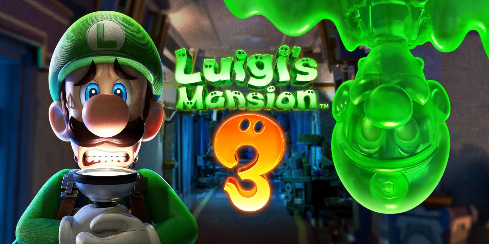 Luigis Mansion 3 Nintendo Switch Jeux Nintendo