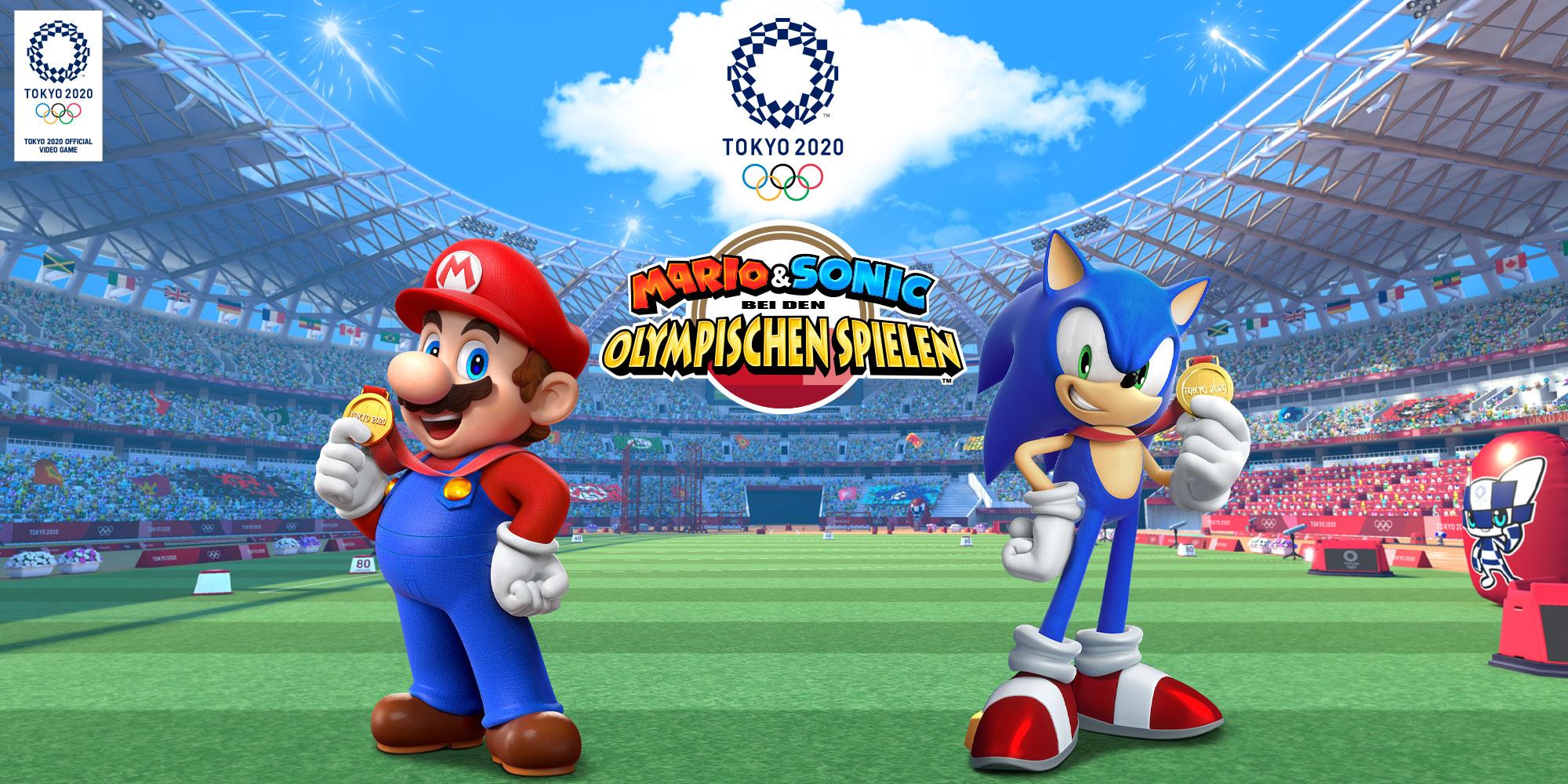 Mario & Sonic bei den Olympischen Spielen Tokyo 20   Nintendo ...