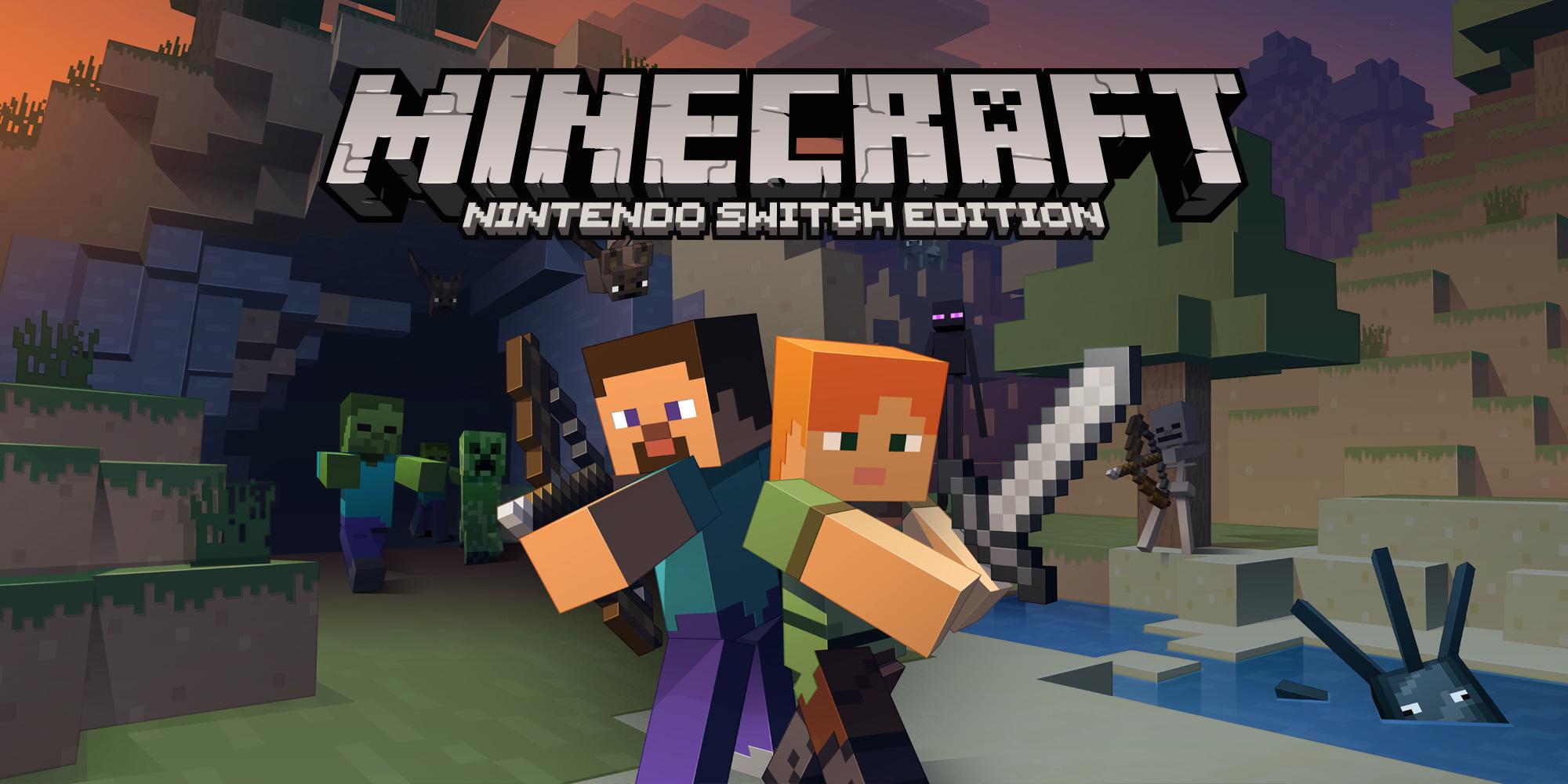 Jetzt Im Nintendo EShop Minecraft Nintendo Switch Edition News - Minecraft zu zweit spielen pc online