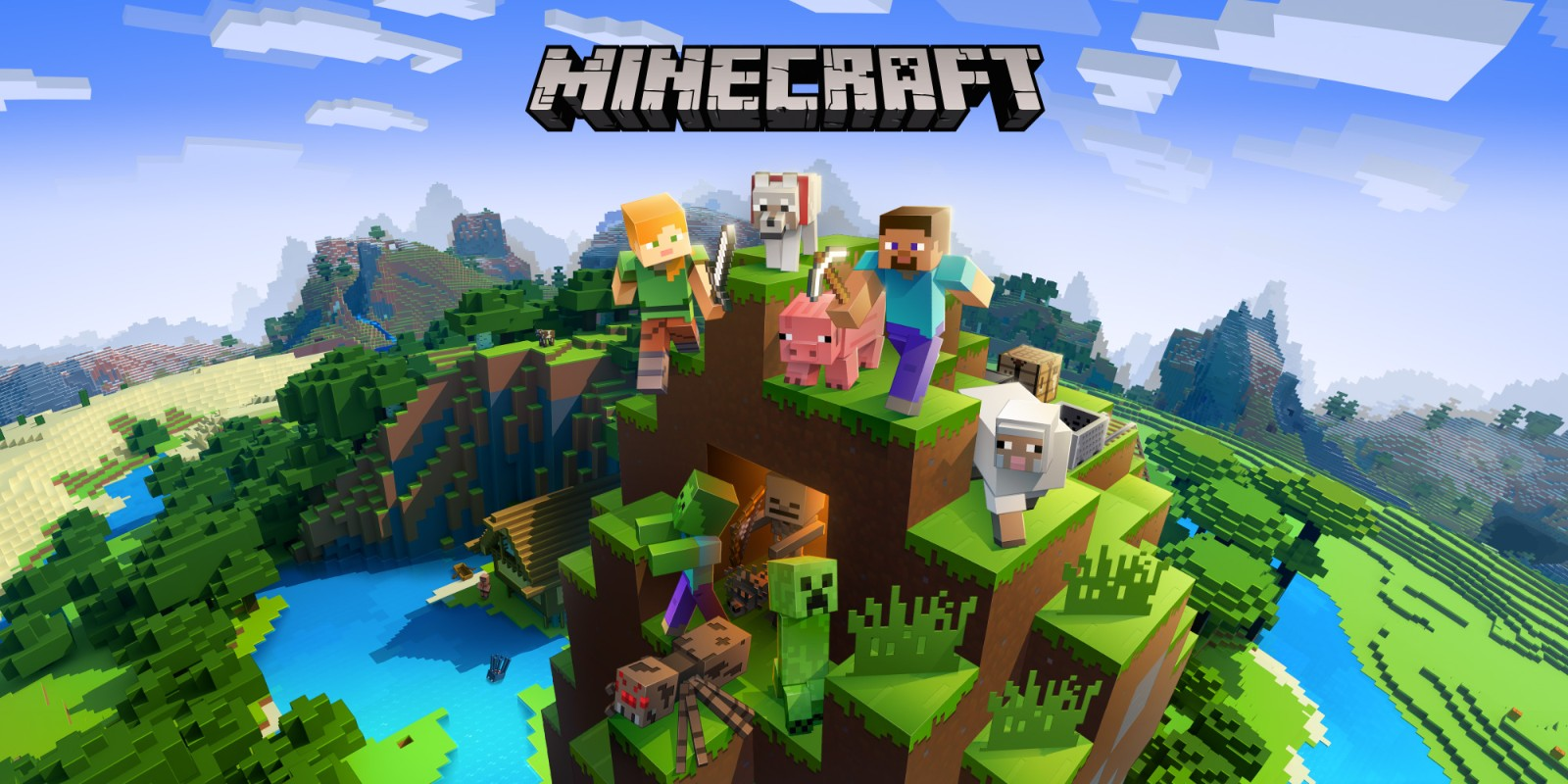 Minecraft Nintendo Switch Spiele Nintendo - Minecraft wii u server erstellen deutsch