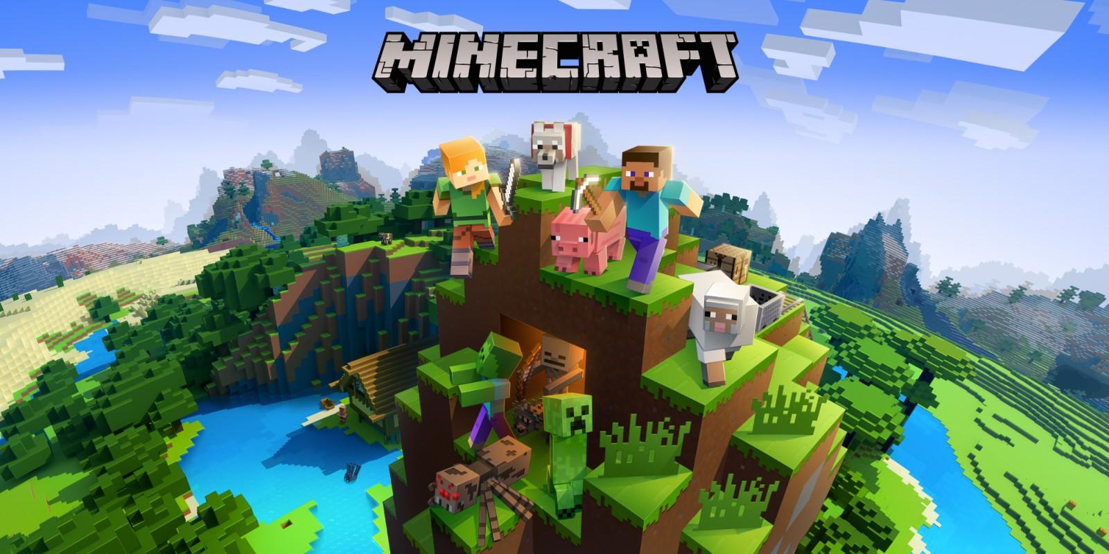 Minecraft Nintendo Switch Spiele Nintendo - Minecraft gemeinsam spielen