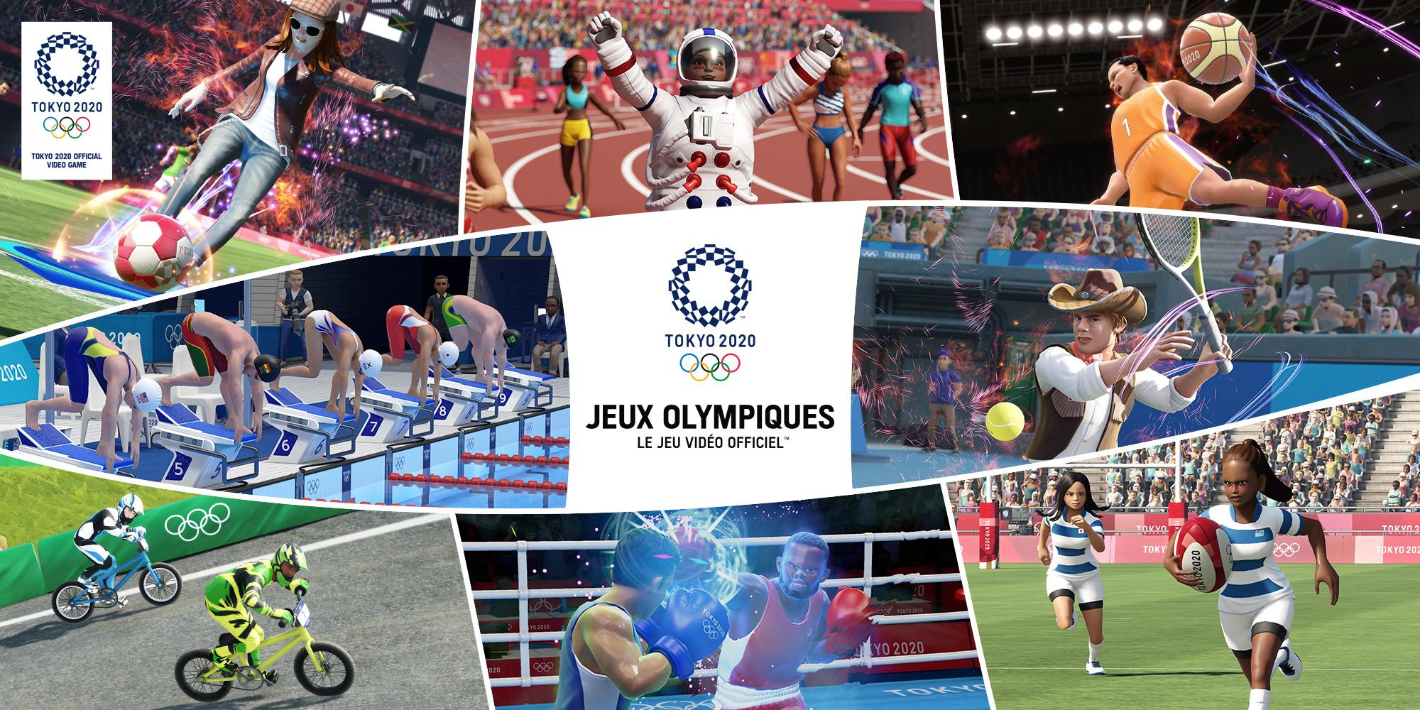 Jeux Olympiques de Tokyo 2020 – le jeu vidéo officiel™ | Nintendo Switch |  Jeux | Nintendo