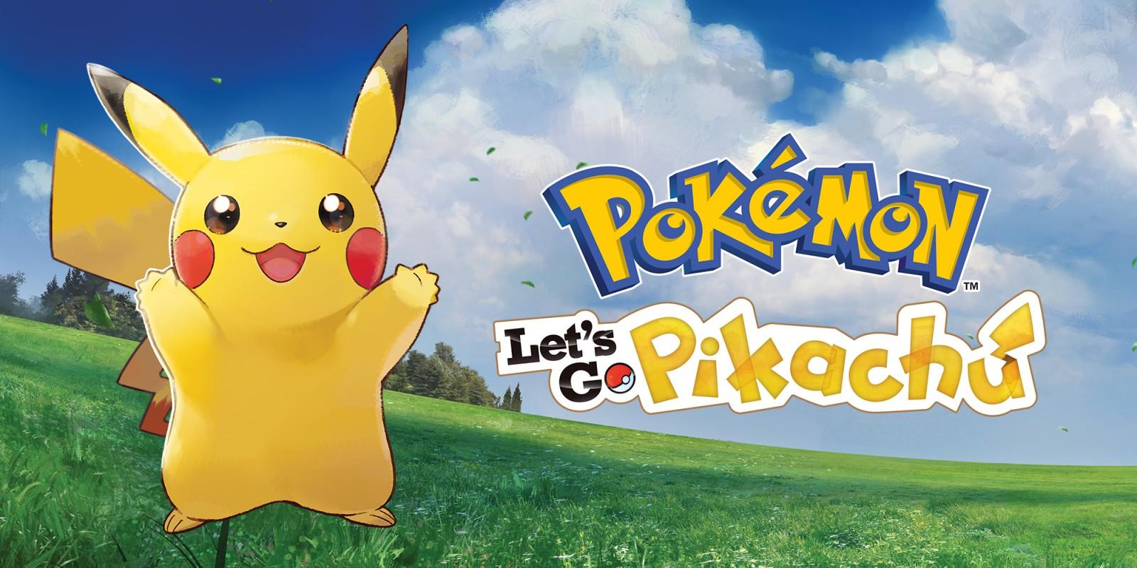 Pokémon Let S Go Pikachu Nintendo Switch Spiele Nintendo