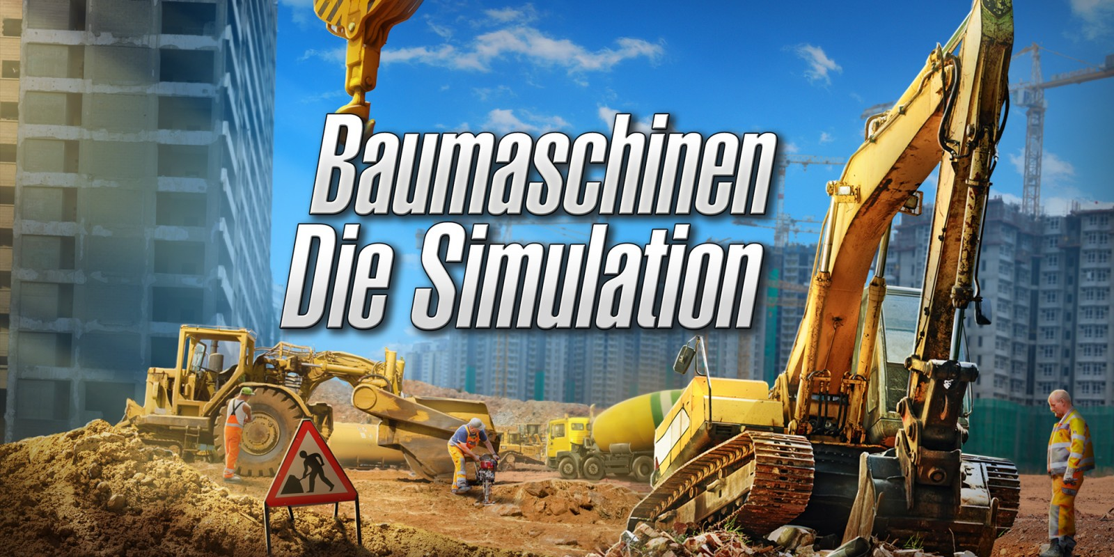 Baumaschinen - Die Simulation