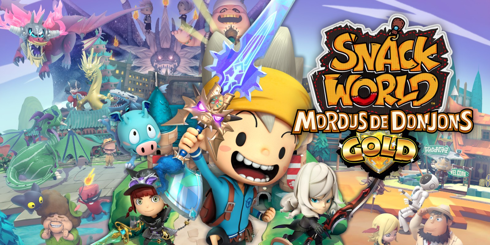 SNACK WORLD: MORDUS DE DONJONS – GOLD