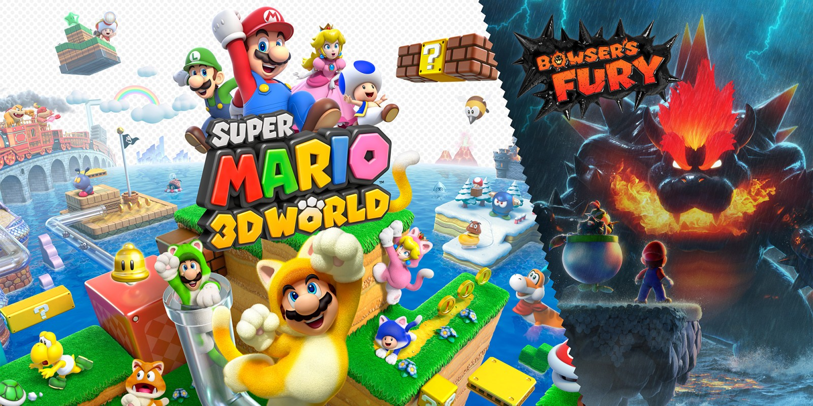 Super Mario 3D World + Bowser's Fury   Nintendo Switch   Jeux   Nintendo