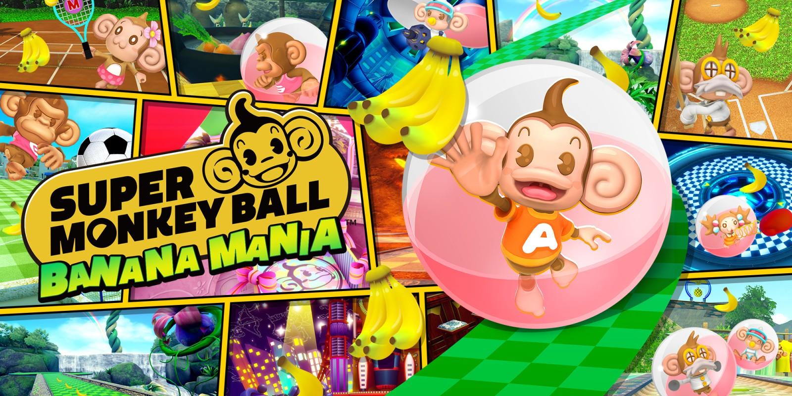 Super Monkey Ball Banana Mania | Nintendo Switch | Jeux | Nintendo