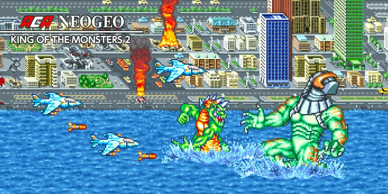 ACA NEOGEO KING OF THE MONSTERS 2