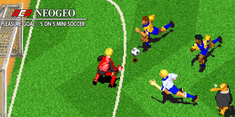 ACA NEOGEO PLEASURE GOAL: 5 ON 5 MINI SOCCER