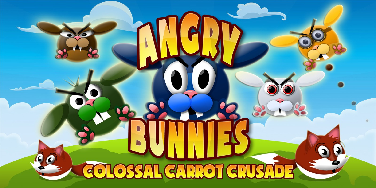 Angry Bunnies: Colossal Carrot Crusade