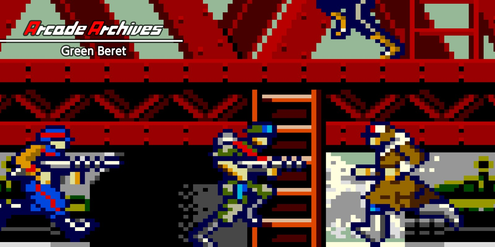 Arcade Archives Green Beret