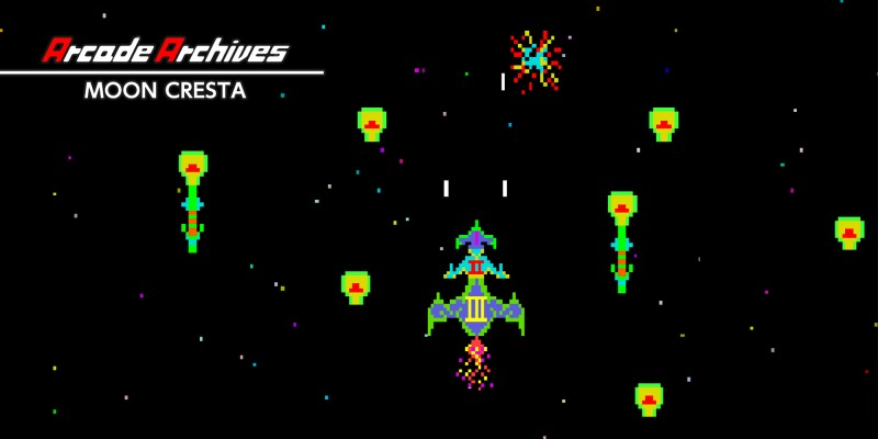 Arcade Archives MOON CRESTA