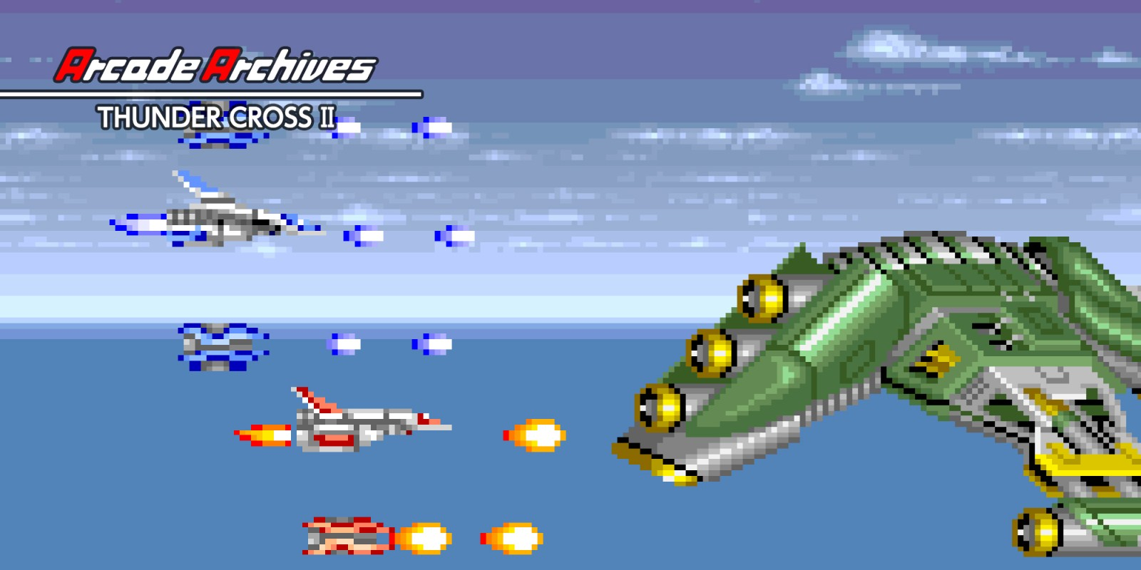 Arcade Archives THUNDER CROSS II