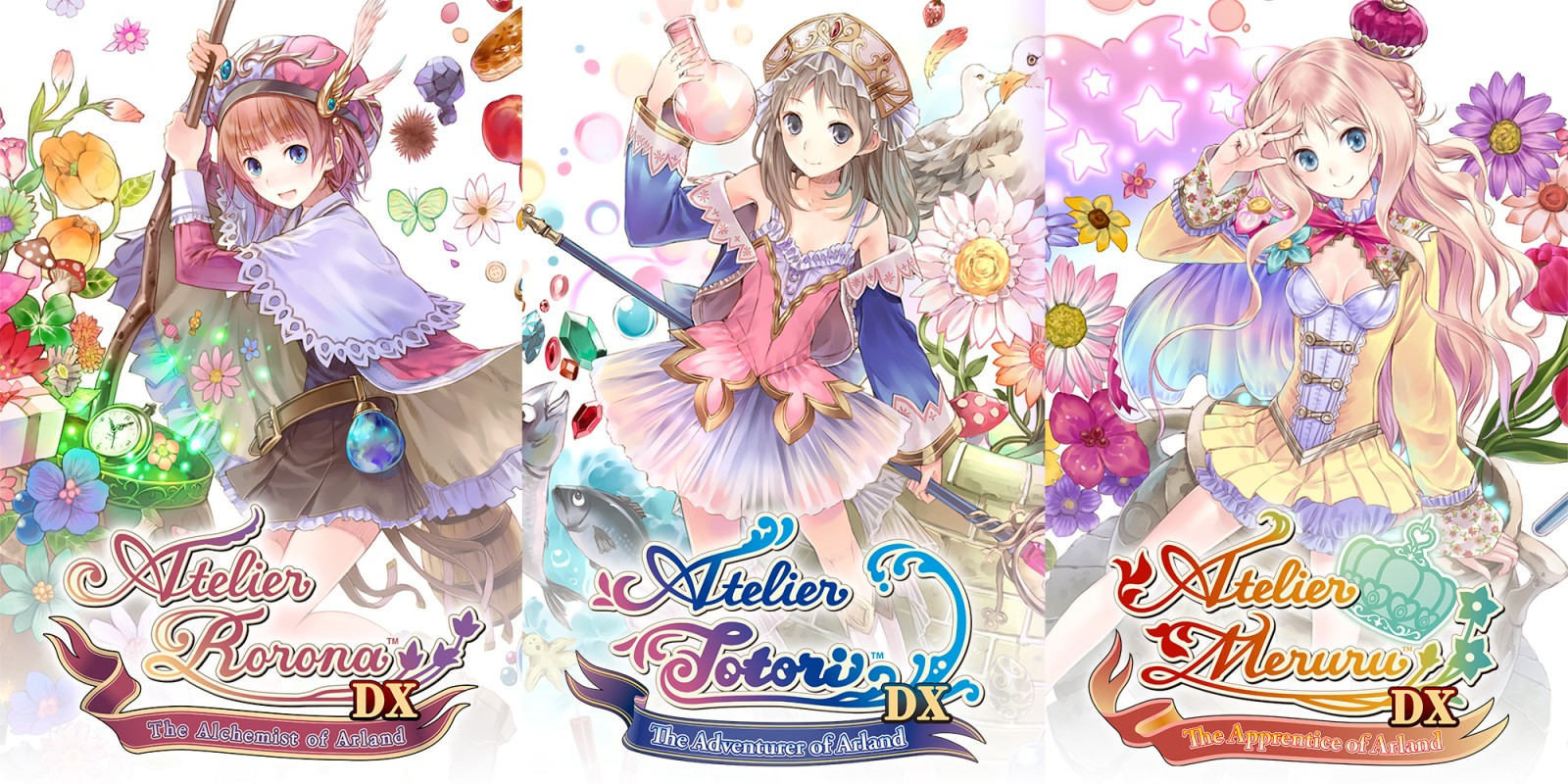 Atelier Arland series Deluxe Pack