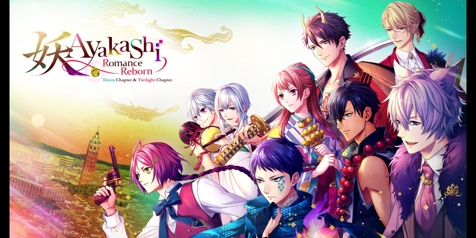 Ayakashi: Romance Reborn Dawn Chapter & Twilight Chapter