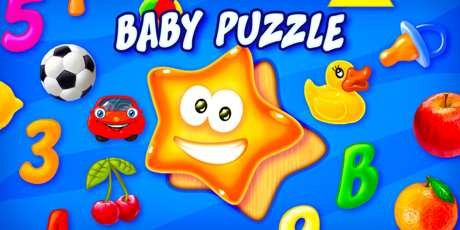 Baby Puzzle - Erste Lernformen für Kleinkinder