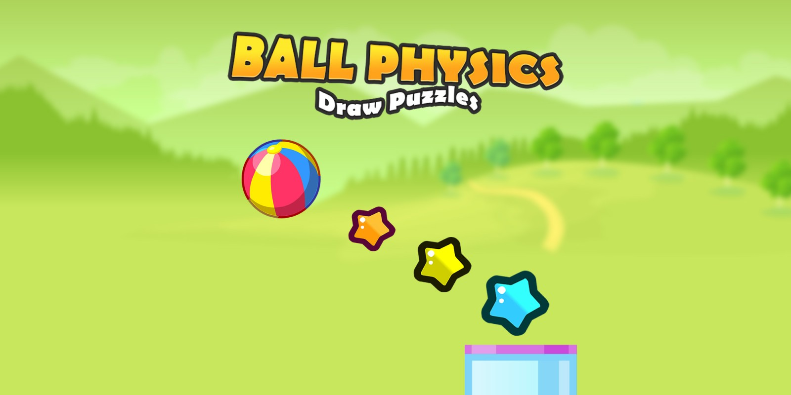 Ball Physics Draw Puzzles