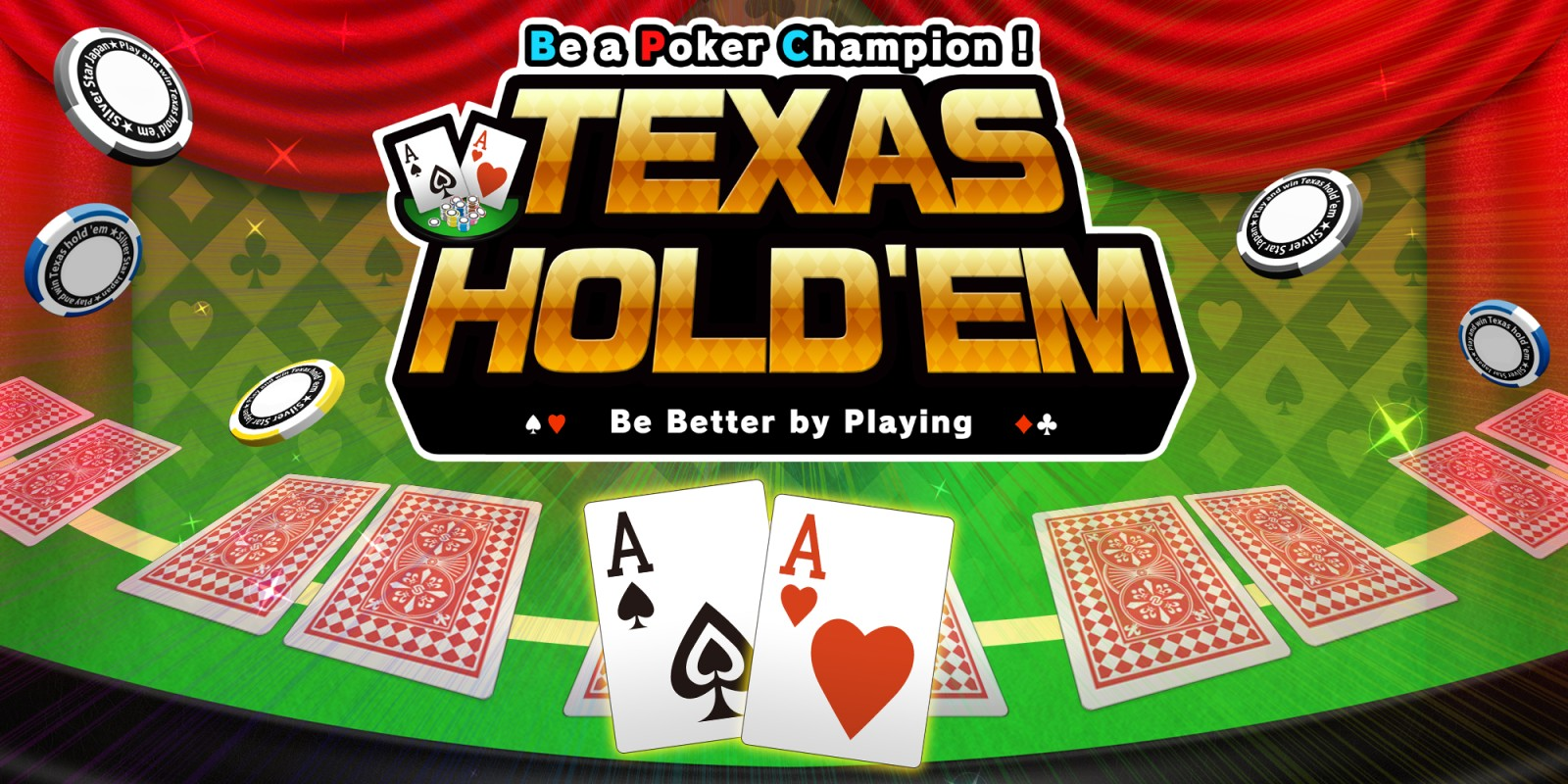 Be a Poker Champion! Texas Hold'em