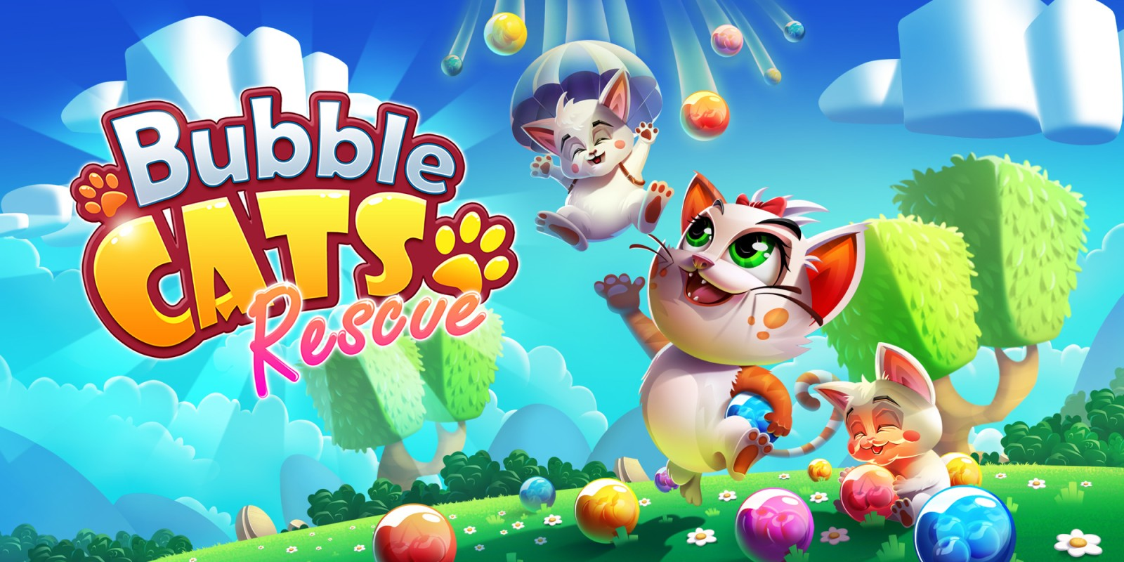 Bubble Cats Rescue